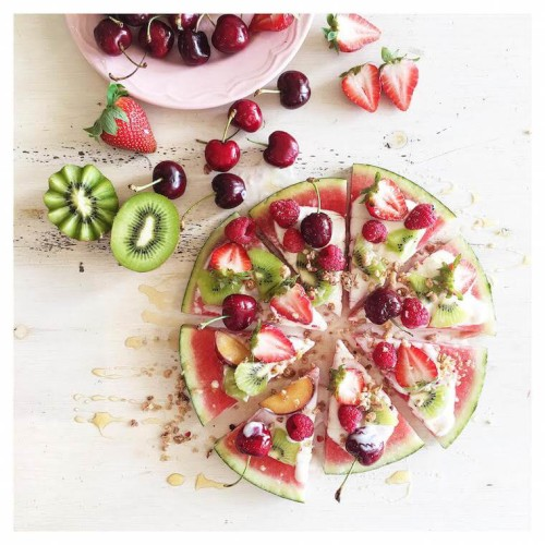 Watermelon-Pizza